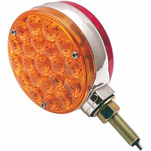 """4"""" SIGNAL LAMP, 42 LED AMBER / RED"""