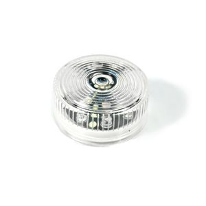 """2"""" ROUND AUXILIARY, 9 DIODE, WHITE"""
