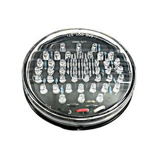 """4"""" ROUND STOP / TURN / TAIL, 44 RED LED, CLEAR LENS"""