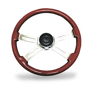 "18"" KW STEERING WHEEL, 4 SPOKE, 05 / 95-03 / 97"