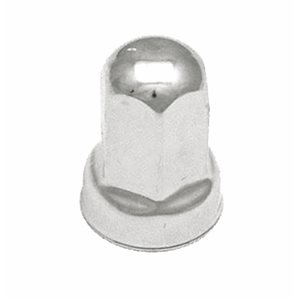 LUG NUT COVER, 22mm, STAINLESS STEEL, FORD