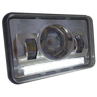 "HEADLIGHT, LED, 4x6"", HIGH BEAM"