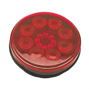 "4"" ROUND STOP / TURN / TAIL,SWEET 16 RED LED"