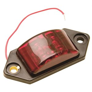 """""""CHARGER JR."""" MARKER / CLEARANCE, RED, 2-LED, 1 WIRE"""