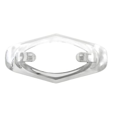 "CHROME-PLATED PLASTIC BEZEL, FOR ""DRAGON'S EYE"" LIGHT"