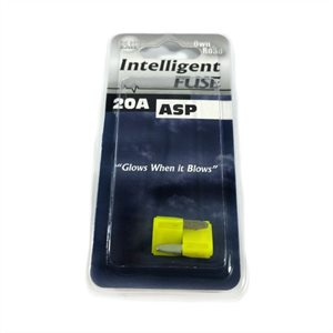 INTELLIGENT FUSE, ASP MINI BLADE SERIES, 2-PACK, 5 AMPS