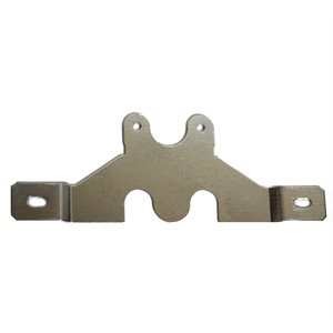 LICENSE PLATE BRACKET, ZINC PLATED STEEL USE, W / 1M-B300
