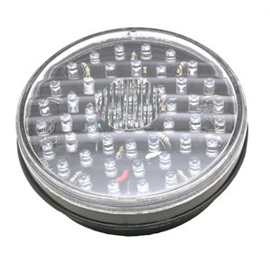 "4"" ROUND STOP / TURN / TAIL,52 RED LED, CLEAR LENS"