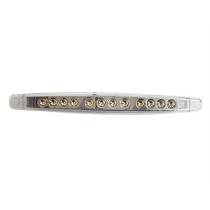"""12"""" BACKUP LIGHT,SIGNATURE SERIES,WHITE,CLEAR LENS"""
