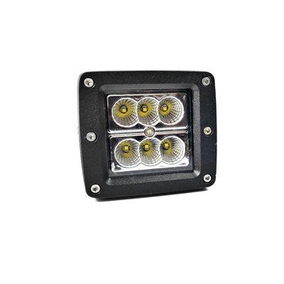 LED WORK LIGHT, 1530 LM, 6 LEDS - FLOOD