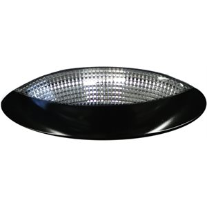 EURO STYLED PORCH LIGHT, BLACK, HALOGEN