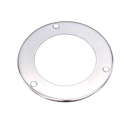 "BEZEL, 2"" ROUND, POLISHED STAINLESS STEEL"