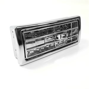 """KENWORTH LOUVERED VENT, CENTER, 2"""" X 5"""" OPENING"""