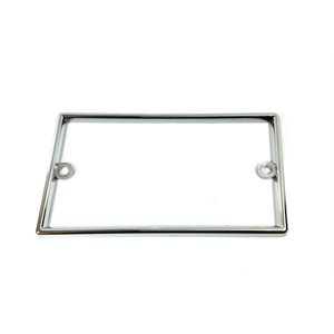 KENWORTH BEZEL-PARK BRAKE, BCU DASH, CHROME PLATED