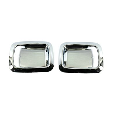 KENWORTH BEZEL-DOOR HANDLE, DAYLIGHT INTERIOR, CHROME-PAIR