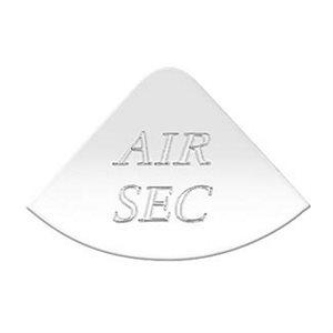 "FREIGHTLINER GAUGE EMBLEM, ""AIR SEC""- FLD CLASSIC"