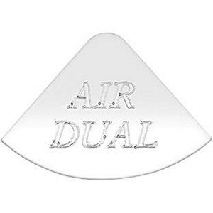 FREIGHTLINER GAUGE EMBLEM, AIR DUAL - FLD CLASSIC
