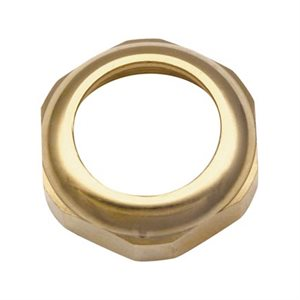 PETERBILT FACE NUT FOR KEY SWITCH-GOLD PLATED