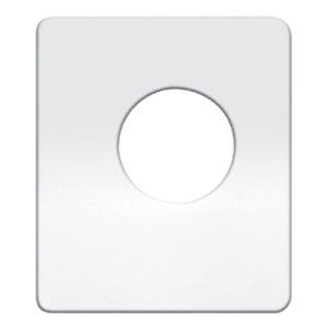 PETERBILT SWITCH PLATE, BLANK-NO ENGRAVING
