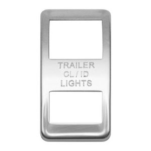 WESTERN STAR SWITCH COVER, TRAILER CLEARANCE ID LIGHT