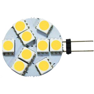 LED BULB, G-4 SIDE MOUNT DISC, 3500K