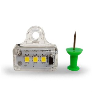 UTILITY LIGHT- INTERIOR, 12V, 1400LM, FLOOD