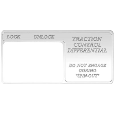 """FREIGHTLINER SWITCH GUARD, """"TRACTION CONTROL DIFFERENTIAL"""" FOR CENTURY"""