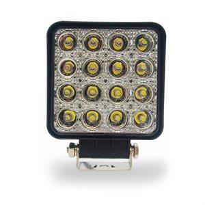 LED WORK LIGHT, FLOOD, 1370 LM