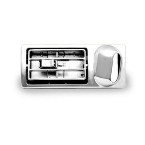 """KENWORTH LOUVERED VENT, DRIVER SIDE, 2"""" X 5"""" OPENING"""